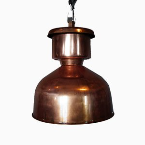 Copper Factory Lamp