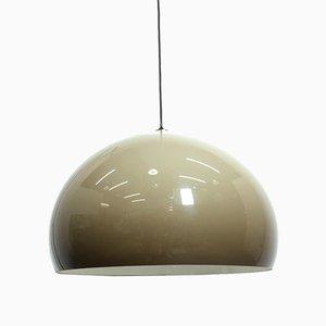 Lampade da soffitto Meblo di Guzzini, anni '70, set di 5