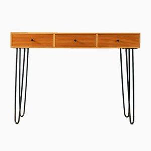 Kirschholz Furnier Schreibtisch, 1960er