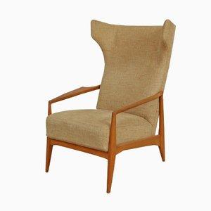 Scandinavian Wingback Armchair