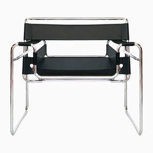 Chaise B3 Wassily Vintage par Marcel Breuer pour Knoll Inc. / Knoll International, 1980s