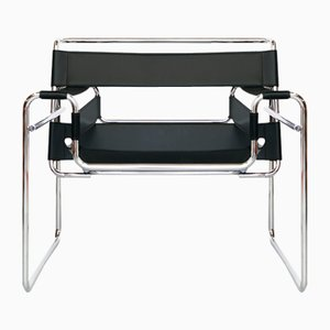Vintage B3 Wassily Chair by Marcel Breuer for Knoll Inc. / Knoll International, 1980s