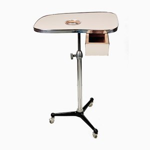 Mid-Century Industrial Barbers or Dentists Rolling Table