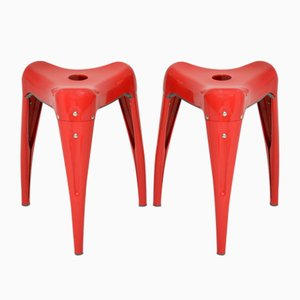Vintage Wisdom Tooth Stools by Yasu Sasamoto for Dulton, Set of 2