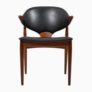 Chaise en Teck par Arne Vodder pour Vamo Sønderborg, Danemark, 1950s