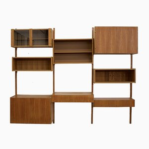 Mid-Century Danish Teak PS System Modular Wall Unit by Paul Sorensen, 1970s