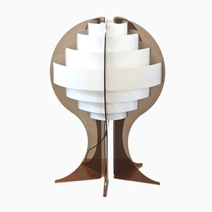 Mid-Century Strips Table Lamp by Preben Jakobsen & Flemming Brylle for Quality System, 1960s