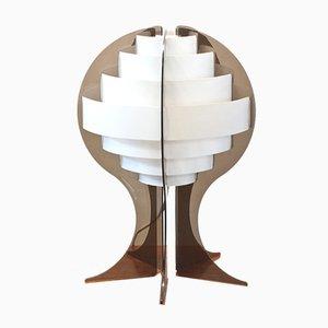 Mid-Century Strips Tischlampe von Preben Jakobsen & Flemming Brylle für Quality System, 1960er