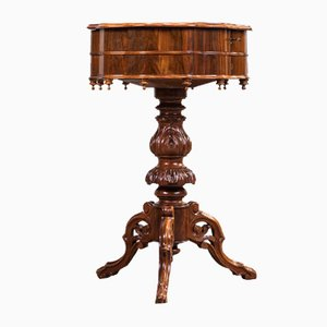 Louis Philippe Walnut Sewing Table, 1860s