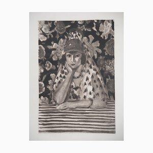 the Spanish Engraving after Henri Matisse