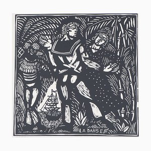 The Dance Wood Engraving by Raoul Dufy, 1910