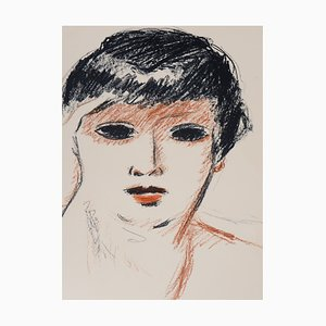 Fernande Olivier Lithograph by Kees van Dongen, 1953