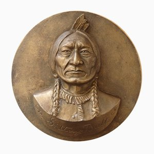 Sitting Bull by Gilbert Poillerat