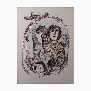 Magisches Vintage Königreich von Marc Chagall