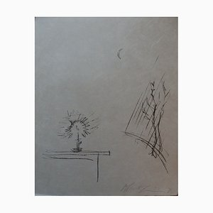 Candle Light Lithograph by Alberto Giacometti, 1901