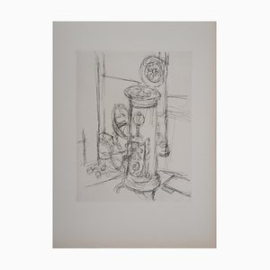 The Stove Etching by Alberto Giacometti, 1956