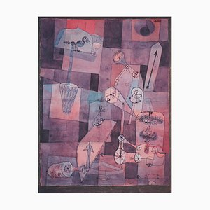 Analysis of Diverse Perversities Lithograph and Stencil after Paul Klee, 1964