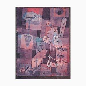 Lithographie et Pochoir d'Analyse de Perversities Diverses d'après Paul Klee, 1964