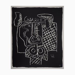 Lithographie Bull par Le Corbusier, 1964