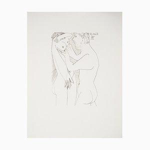 Lithographie The Erotic Couples d'après Pablo Picasso, 1970