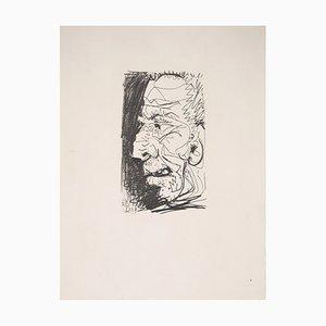 Portrait eines Old Man Lithographie nach Pablo Picasso, 1970
