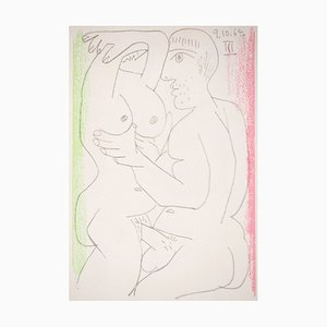 The embreice Lithograph after Pablo Picasso, 1964