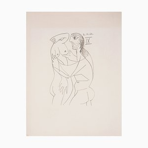 Fascination Lithograph after Pablo Picasso