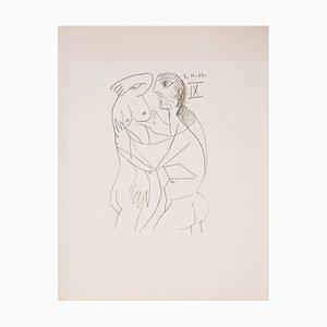 Fascination Lithographie nach Pablo Picasso