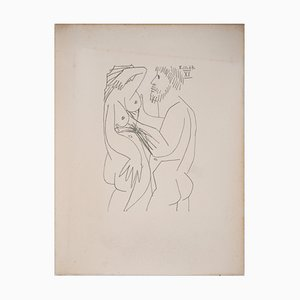 Les amants Lithograph after Pablo Picasso, 1970