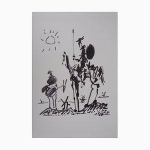 Don Quixote Lithographie nach Pablo Picasso