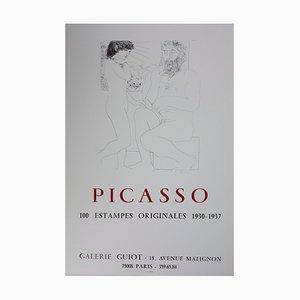 Lithographie Vintage de 100 Lithographies 1930-1937 d'après Pablo Picasso