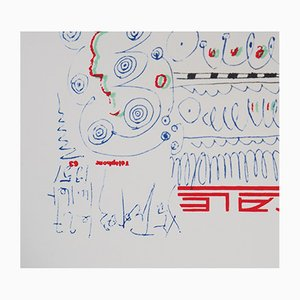 Litografia The Stopover (St Tropez) secondo Pablo Picasso
