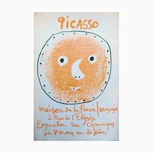 Keramik Gesicht, Madoura von Pablo Picasso, 1958