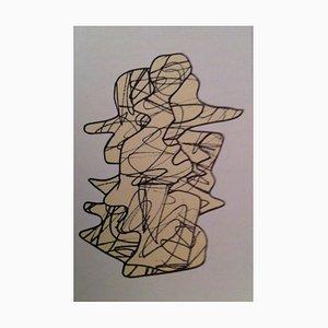 Figurazione XXVIII, 5 novembre 1974 di Jean Dubuffet, inizio XX secolo