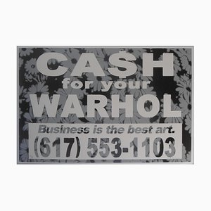 Business is the Best Art Variant 2 Screen Print by Cash For Your Warhol, 2019