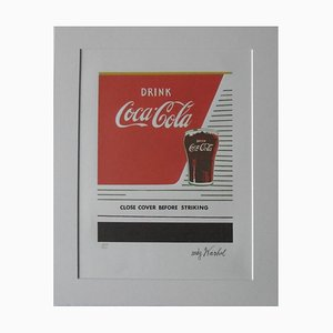 Coca Cola Lithograph after Andy Warhol