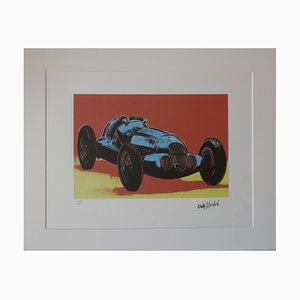 MERCEDES W 125 Lithograph after Andy Warhol