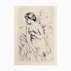 Stehender Schwimmer nach Auguste Renoir, 1910