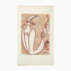 Triptych by Max Ernst, 1975
