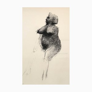 Standing Nude Lithograph by César