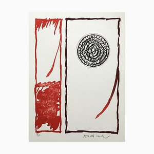 Hors Livre II Lithographie und Radierung von Pierre Alechinsky, 1979