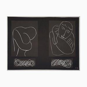 Peintures Dessins Lithographic Poster after Henri Matisse, 1950