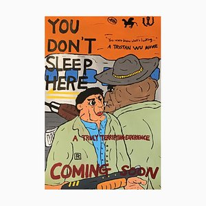 You Do not Sleep Here Acryl auf Papier von Tristan Wu, 2019