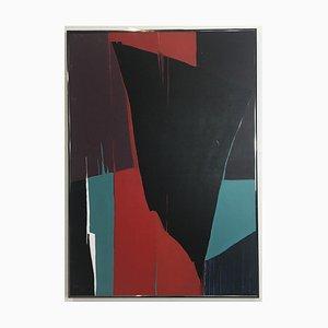 Untitled Acryl auf Leinwand von Jean Rouzaud, 1985