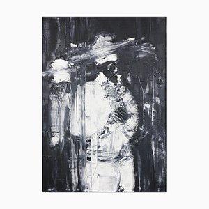 Mété Hounssi O Dehor Öl auf Leinwand von Patrice Palacio, 2016
