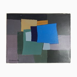 Acrílico sin tinte sobre lienzo de Jean Rouzaud, 1988