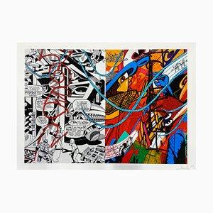 Comics Pigment Print by Maxime Lhermet, 2020