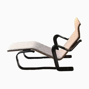 Chaise Lounge in Bent Plywood by Marcel Breuer for Isokon, UK, 1970s