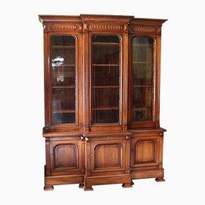 19th Century Walnut 6-Door Bookcase