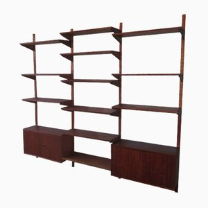 Vintage Danish Teak Modular Wall Unit, 1960s